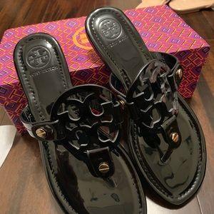 Tory Burch Miller Sandal NWT IN BOX black